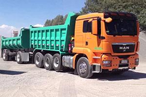 Перевозки автотранспортом в Мурманске
